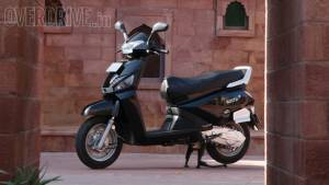 Mahindra Gusto is the 2015 CNBC TV18 OVERDRIVE Viewer's Choice Scooter Of The Year