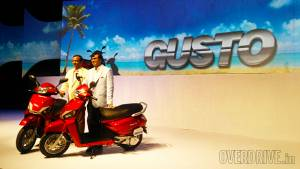 Mahindra Gusto launched in India at Rs 43,000