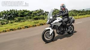2014 Moto Morini Gran Passo India first ride