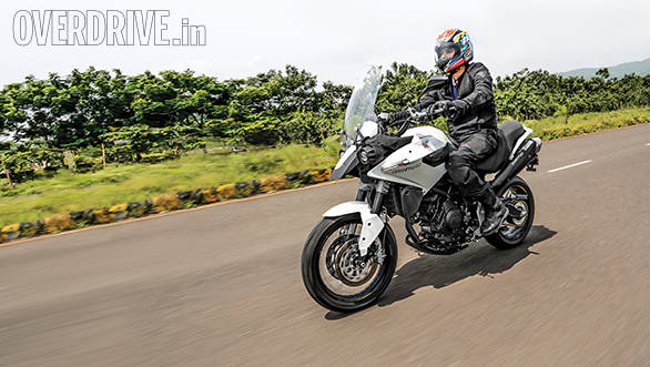 2014 Moto Morini Gran Passo India first ride