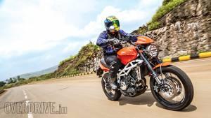 2014 Moto Morini Scrambler India first ride review