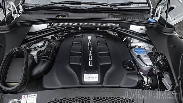 3.0-litre diesel puts out 245PS and 580Nm
