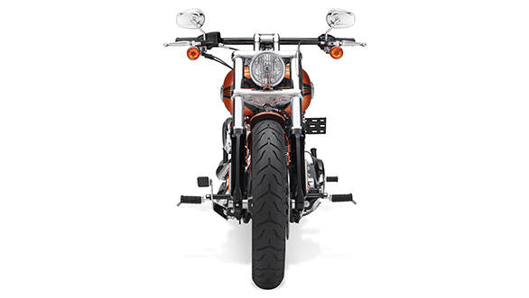 The Breakout is the latest member of the Softail family of Harley-Davidsons