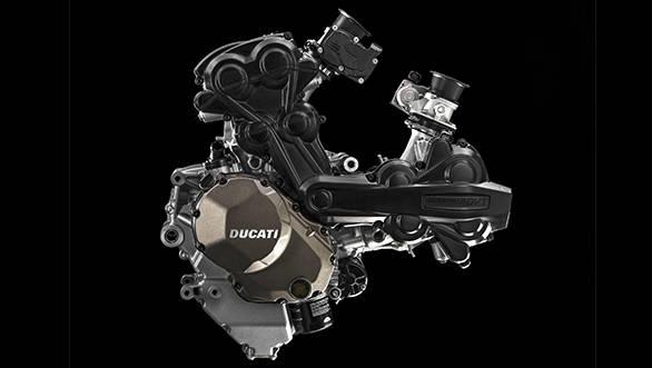The new Ducati Testastretta DVT with variable valve technology