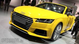 Audi TT Roadster debuts at the Paris Motor Show 2014: Image gallery