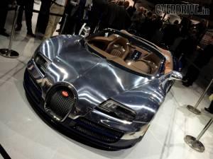 Veyron Ettore Bugatti Legend Edition debuts at the 2014 Paris Motor Show: Image gallery