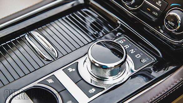Jaguar XJ L controls