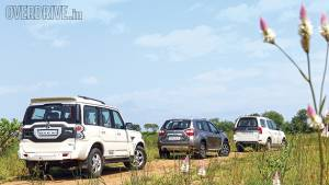 SUV Comparo: Tata Safari Storme vs Mahindra Scorpio vs Nissan Terrano