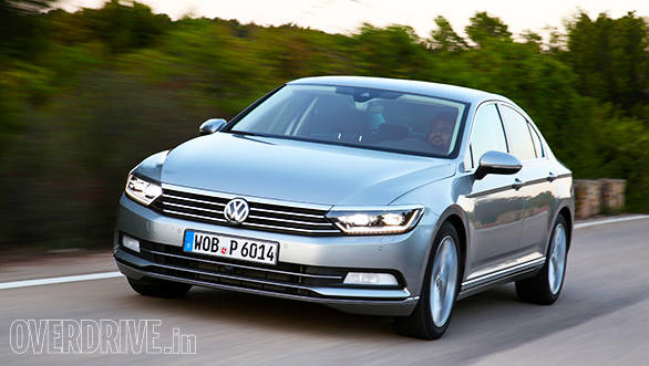 VW Passat B8 First Drive