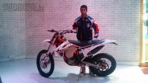 CS Santosh to compete in 2015 Dakar Rally