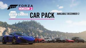 Forza Horizon 2 Napa Chassis Car Pack released on Xbox consoles