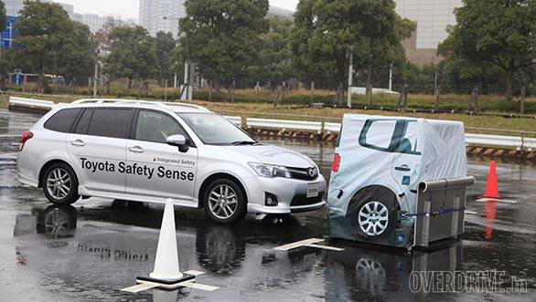 Toyota Safety Sense C is designed for compact passenger cars