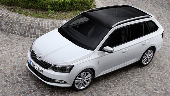 Production launch for new Fabia Combi 1
