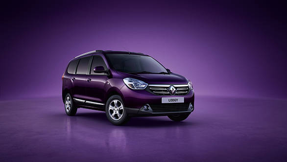 Renault Lodgy Photo reveal shot