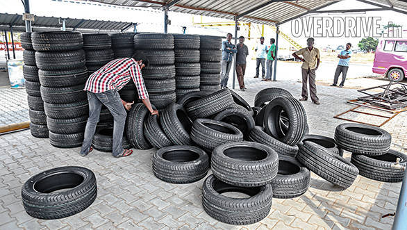 Tyres galore with plenty of JK Tyre's finest