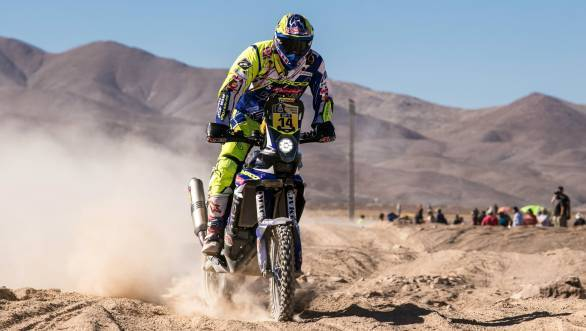 More steady performances as the 2015 Dakar progresses from Duclos on the Sherco TVS RTR 450