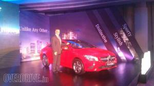 Mercedes-Benz launches the CLA 200 in India at Rs 31.5 lakh (ex-Delhi)