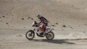 Dakar 2015: CS Santosh placed 42nd in motorcycle category after Stage 8