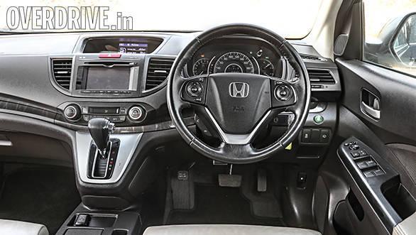 Honda CRV interiors