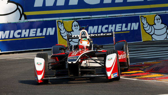 Karun Chandhok suffered a DNF at the fourth round of the Formula E championship at Argentina