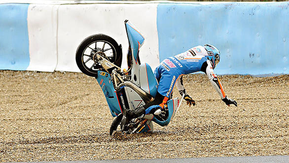 . . . It also saw him come to terms with some extremely high speed crashes. Crashes that he says he's managed to get past