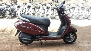 Spied: new Honda Activa 3G at a dealership in India
