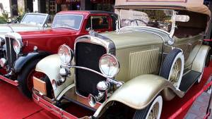 Fifth edition of the 21 Gun Salute Vintage Car Rally on February 21-22, 2015 at Delhi