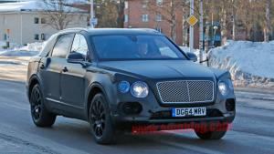 Spied: 2016 Bentley Bentayga SUV testing in Sweden