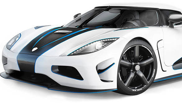 Shown here is the Agera R