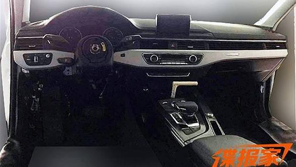 Audi A4 spied 1