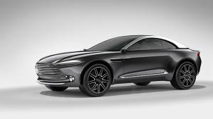 2015 Geneva Motor Show: Aston Martin DBX Concept image gallery