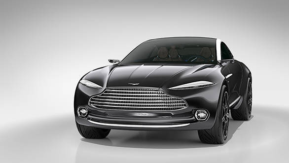Imagined by Chief Creative Officer Marek Reichman and his team at the brand's global headquarters in Gaydon, Warwickshire, the all-electric DBX Concept showcases not only cutting edge engineering but also a major evolution of the British brand's world-renowned and highly-regarded design language.