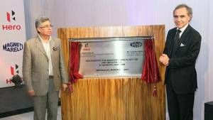 Hero Motocorp and Magneti Marelli begin production of Electronic Fuel Injection (EFI) systems