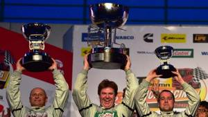 Stuart Oliver wins the Tata T1 Prima Truck Racing Championship season 2