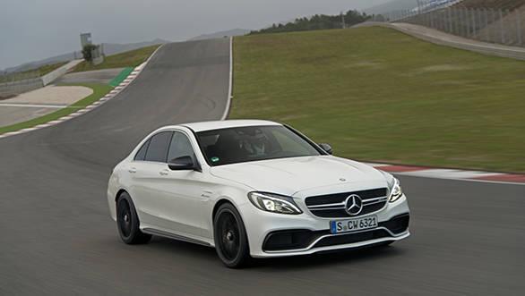 Mercedes-AMG C 63 und Mercedes-Benz C 450 AMG Pressdrive Portima