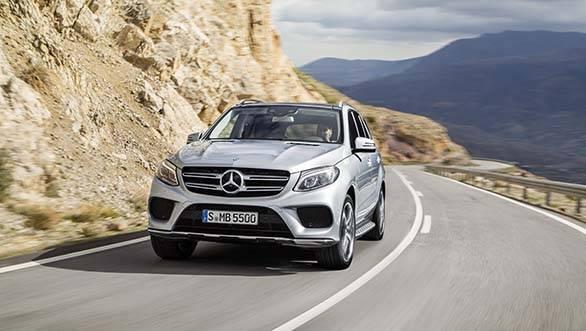 Mercedes-Benz GLE500 1