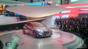 2015 Geneva Motor Show: Nissan Sway concept