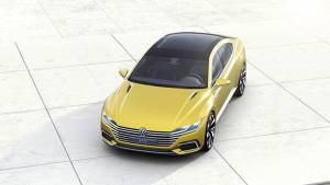 2015 Geneva Motor Show: Volkswagen unveils the Sport Coupe Concept GTE, Touran, Sharan and the Passat Alltrack