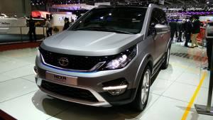 2015 Geneva Motor Show: Tata Hexa concept image gallery