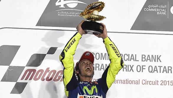 Valentino Rossi 2015 Qatar
