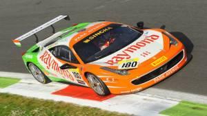 Podium for Gautam Singhania at the Monza round of the 2015 Ferrari Challenge Europe Championship