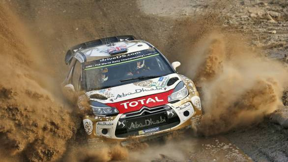 Kris Meeke took his first World Rally Championship victory at the 2015 Rally Argentina