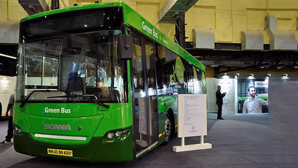Scania Green Bus