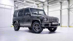 Mercedes-Benz updates the G-Class and its AMG variants