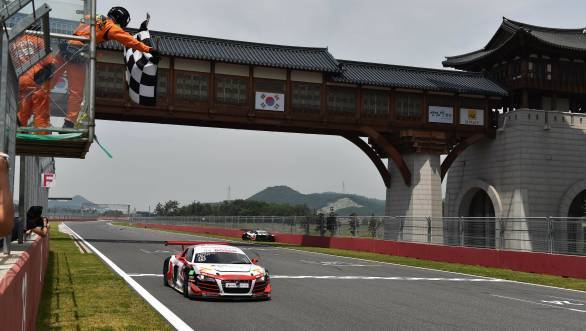 Aditya Patel is currently second in the Audi R8 LMS Cup championship standings