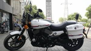 Nine Bridges Harley-Davidson develops six customised Street 750s for the Gujarat Police