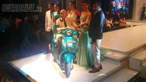 Yamaha Fascino 113cc scooter launched in India at Rs 52,500