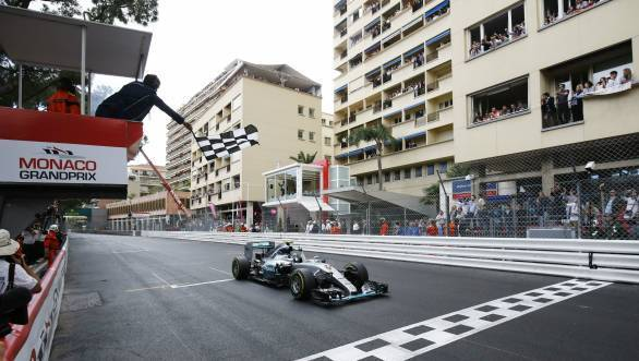 Third consecutive win at the Monaco GP for Nico Rosberg makes the fight for the 2015 title a little tougher for Lewis Hamilton