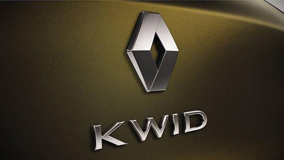 Renault KWID badging