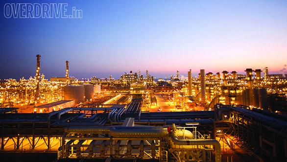 The Pearl GTL plant in Qatar